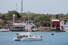 Katamaran cozumel fotografering för bildbyråer