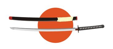 Katana Royalty Free Stock Photography