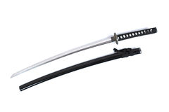 Katana - espada do samurai (3) Foto de Stock Royalty Free