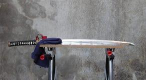 Katana maintenance Royalty Free Stock Photo