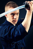 Katana man Stock Photography