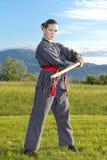 katana ninja kordzika kobieta Obraz Royalty Free