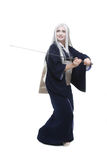 Katana personage Stock Photos