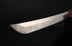 Katana samouraï d'épée Photographie stock libre de droits