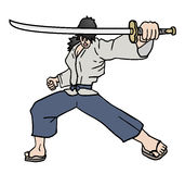 Katana samurai Stock Photos