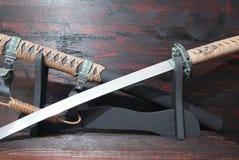 Katana samurai sword Royalty Free Stock Images
