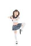 Katana-Schüler Stockfotos
