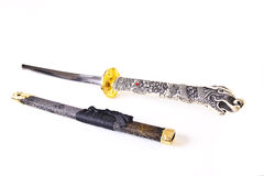 Katana and Sheath Royalty Free Stock Images
