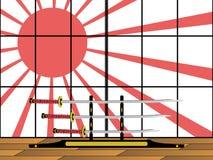 Katane giapponesi Royalty Free Stock Photo