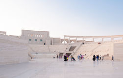 The Katara Amphitheater Stock Photo