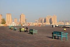 Katara cultural village, Doha Stock Images