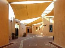 Katara Cultureel Dorp in Doha royalty-vrije stock fotografie
