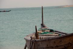 Katara plaża Obrazy Stock