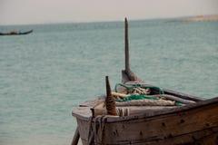 Katara strand Arkivbilder