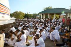KATARAGAMA, ΣΡΙ ΛΑΝΚΑ - 5 ΜΑΐΟΥ: Φεστιβάλ Dawa μακριών περιπετειωδών μυθιστορημάτων στο celebrat στοκ εικόνες