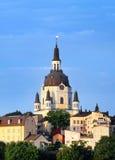 Katarina教会在斯德哥尔摩 库存照片