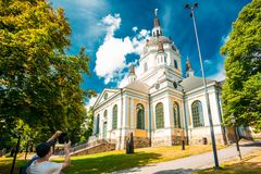Katarina Church in Stockholm, Sweden Stock Photos
