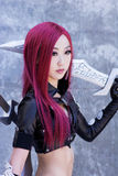 Katarina Cosplay. Katarina from League of Legends Cosplay at Fanime 2015. FanimeCon (By Fans, For Fans) is Northern California's largest celebration of anime Stock Images