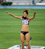 Katarina Johnson-Thompson Royalty Free Stock Images