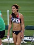 Katarina Johnson-Thompson de Grande-Bretagne Photos stock