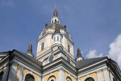 Katarina Kirche Stockbild