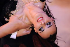 Katarzyna Kapral - ballroom dancing Stock Images
