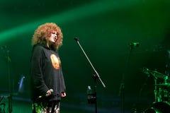 Katarzyna Nosowska durante il concerto di Meskie Granie 2018 a Varsavia fotografia stock