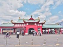 Katase-Enoshima stacja, Kanagawa, Japonia Zdjęcia Stock