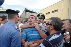 katastrofy Italy taborowy viareggio Obrazy Stock
