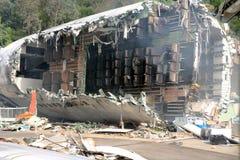 katastrofy samolotu Obrazy Stock