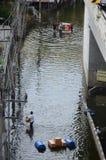 Katastrophe in Bangko von 22.11.2 Stockbild