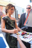Kate Beckinsale. Kate signs autographs at Total Recall premiere Stock Images