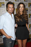 Kate Beckinsale, Len Wiseman stock photography