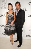 Kate Beckinsale, Len Wiseman Royalty Free Stock Photo