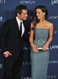 Kate Beckinsale & Len Wiseman Stock Photo
