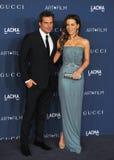 Kate Beckinsale & Len Wiseman Stock Photos
