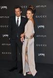 Kate Beckinsale & Len Wiseman Royalty Free Stock Photo