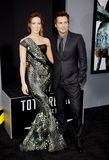 Kate Beckinsale and Len Wiseman Stock Photo
