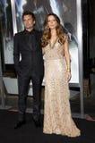 Kate Beckinsale and Len Wiseman Stock Photos