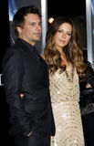 Kate Beckinsale and Len Wiseman Royalty Free Stock Image