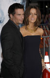 Kate Beckinsale and Len Wiseman Royalty Free Stock Photography