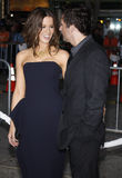 Kate Beckinsale and Len Wiseman Royalty Free Stock Photos