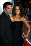 Kate Beckinsale and Len Wiseman Stock Photography