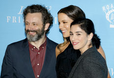 Kate Beckinsale, Sarah Silverman and Michael Sheen Stock Photography