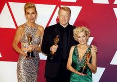Kate Biscoe, Greg Cannom e Patricia Dehaney fotografie stock