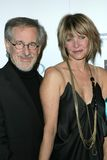 Kate Capshaw, Steven Spielberg Stock Photo