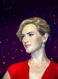Kate Elizabeth Winslet in Madame Tussaud wax museum. London. UK Royalty Free Stock Photography