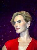 Kate Elizabeth Winslet nel museo della cera di signora Tussaud Londra Il Regno Unito Fotografia Stock Libera da Diritti