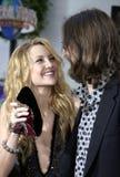 Kate Hudson Robinson i Chris Obrazy Stock