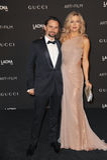 Kate Hudson u. Matthew Bellamy Lizenzfreies Stockfoto